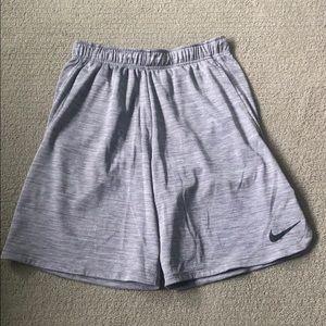 Nike Athletic Shorts - Heather Grey